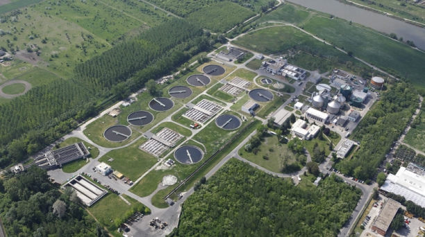 Waste water treatment – since 2011 nutrients have also been removed from the treated water emitted into the Danube.